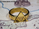 Ring - Triforce of Power (Size 13) in Stainless Steel
