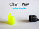 Claw-Paw Size Medium (18mm diameter) in White Strong & Flexible