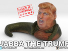 Jabba the trump -  small in Full Color Sandstone