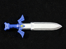 Toon Master Sword in Frosted Ultra Detail