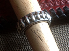 Eagle's Claw Ring - Size 9 1/2 (19.35 mm) in Polished Silver