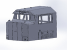 N-scale NS 6920 Crescent Cab in Frosted Ultra Detail