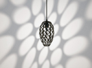 Hedron Series: Pendant Light in Black Strong & Flexible