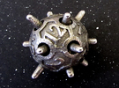 Sputnik Die12 in Stainless Steel