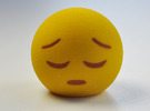 3D Emoji Feelin' Down in Full Color Sandstone