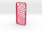 iPhone 5/5s Reptile Case in Pink Strong & Flexible Polished