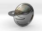 Globemed Ring, Filled in Polished Silver