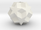 Dodecadodecahedron (re-re-upload) in White Strong & Flexible