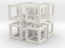 interlocked cubes 2 in White Strong & Flexible