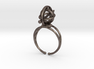 Armillary Ring in Stainless Steel