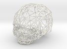 Skull Wireframe in White Strong & Flexible