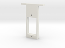 rc-servo mounting kit (for ES-05 jr) in White Strong & Flexible