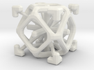 Complex 2-7 cube in White Strong & Flexible