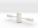 B.Y.O.S.S. 2 Cylinders Horizontal in White Strong & Flexible