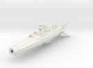 Earth Defence Fleet Cruiser Horatius Class in White Strong & Flexible