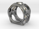1086 ToolRing - size 12 (21,40mm) in Raw Silver