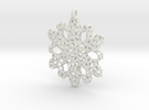 Snowflake Ornament - La Mer in White Strong & Flexible