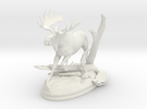 moose in White Strong & Flexible