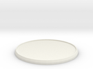 Round Model Base 55mm in White Strong & Flexible