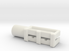 XL BELT TENSIONER in White Strong & Flexible