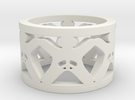 Intactivist Ring Size 7 in White Strong & Flexible