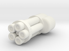 Mini Gat in White Strong & Flexible