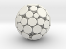 Patched Ball in White Strong & Flexible