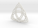 Triquetra in White Strong & Flexible