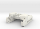 NVG Go Pro Mount (Mount Rail) in White Strong & Flexible