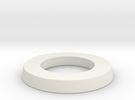 adapter ring for eBike belt disk in White Strong & Flexible