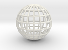 globeWireframe in White Strong & Flexible