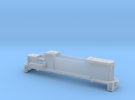 GP38 2 Locomotive Body Only Z Scale in Frosted Ultra Detail