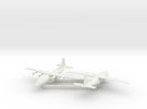1/700 Shaanxi Y8 600 X2 in White Strong & Flexible