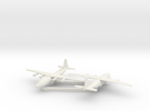 1/700 Antonov AN 12 Shaanxi Y8 x2 in White Strong & Flexible