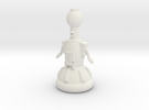 Tom Servo in White Strong & Flexible