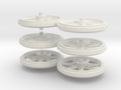 Wheels 2de Serie in White Strong & Flexible