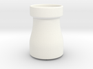 SHAPED CONE FOR PING STYLE ULTRASONIC SENSOR in White Strong & Flexible Polished
