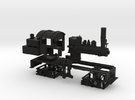 HO Scale Mich Cal Shay in Black Strong & Flexible