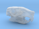 Mini Rat Skull in Frosted Ultra Detail