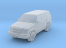 1998 to 2002 Isuzu Trooper USA 1:150 rev 0 in Frosted Ultra Detail