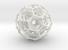 Three BuckyBalls in White Strong & Flexible