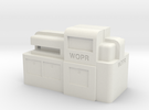 WOPR Computer, Large in White Strong & Flexible
