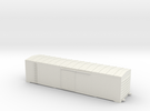 Cometarsa Boxcar Smooth lateral Body in White Strong & Flexible