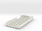 Chain Mail iPhone 5 Case in White Strong & Flexible