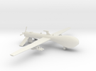 RQ 1 Predator Drone Model in White Strong & Flexible
