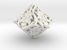Botanical Die10 Decader Ornament in White Strong & Flexible