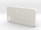 Copy Of Iphone 4 Case (1) in White Strong & Flexible