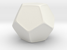 Blank D12 Honeycomb in White Strong & Flexible