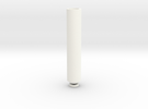 Long Drip Tip(1) in White Strong & Flexible Polished