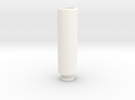 Drip Tip in White Strong & Flexible Polished